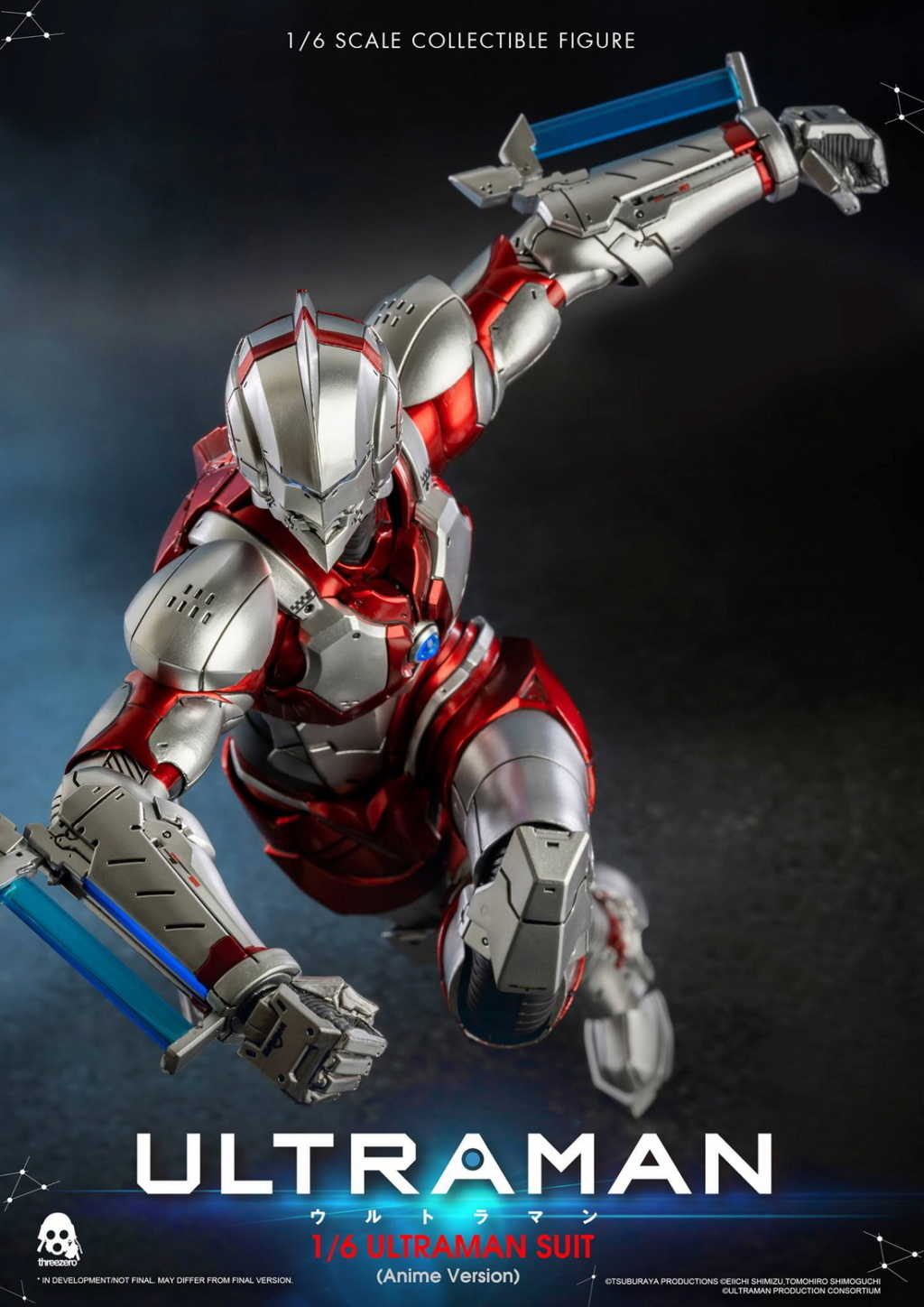 "NEW PRODUCT: Threezero: 1/6 Netflix Animated Edition ""Mobile Altman"" - ULTRAMAN / Altman Motivator 09530310"