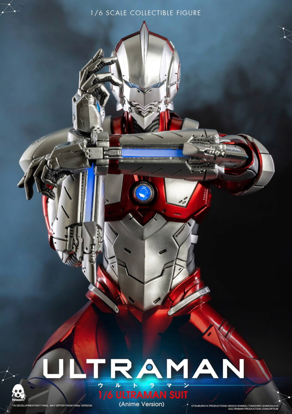 "NEW PRODUCT: Threezero: 1/6 Netflix Animated Edition ""Mobile Altman"" - ULTRAMAN / Altman Motivator 09530910"