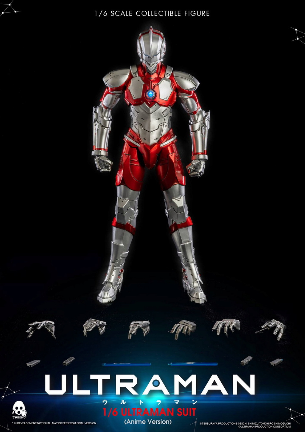 "NEW PRODUCT: Threezero: 1/6 Netflix Animated Edition ""Mobile Altman"" - ULTRAMAN / Altman Motivator 09531310"