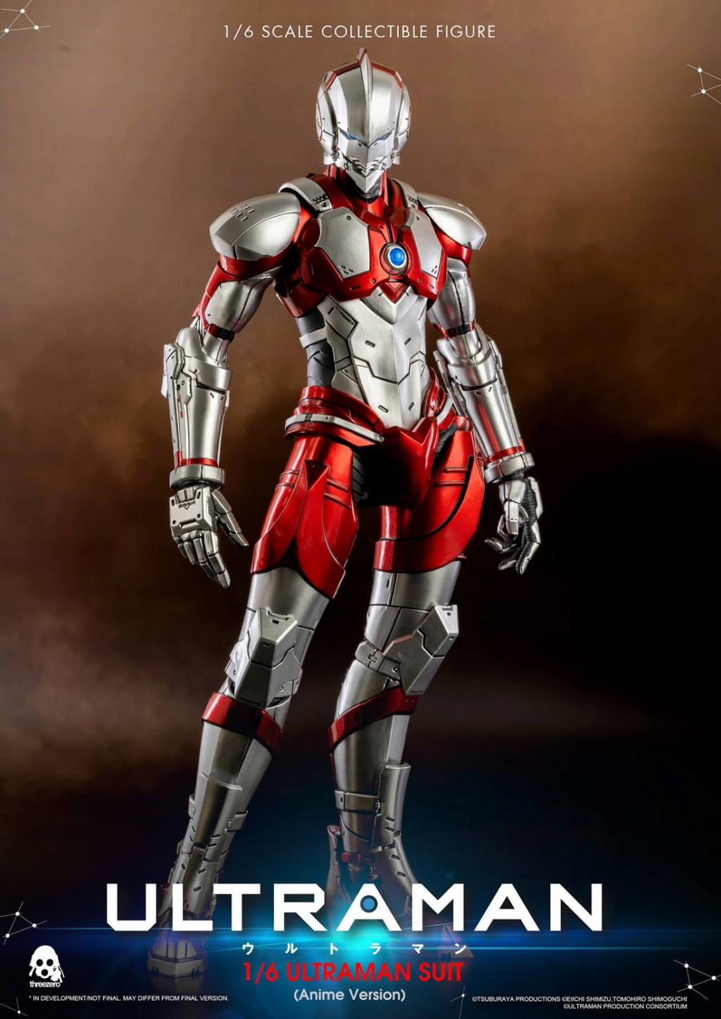 "NEW PRODUCT: Threezero: 1/6 Netflix Animated Edition ""Mobile Altman"" - ULTRAMAN / Altman Motivator 09531810"