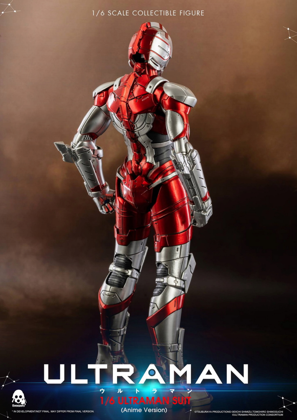"NEW PRODUCT: Threezero: 1/6 Netflix Animated Edition ""Mobile Altman"" - ULTRAMAN / Altman Motivator 09532310"