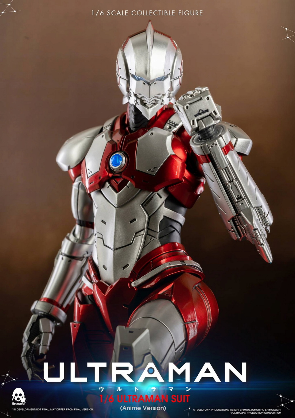 "NEW PRODUCT: Threezero: 1/6 Netflix Animated Edition ""Mobile Altman"" - ULTRAMAN / Altman Motivator 09532910"