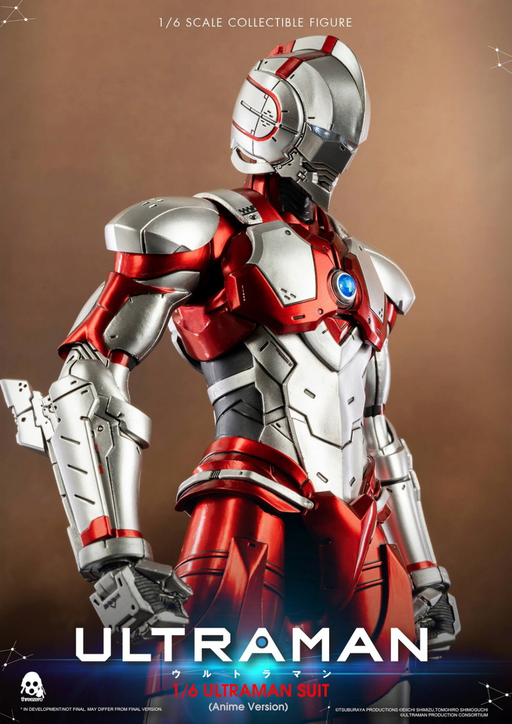 "NEW PRODUCT: Threezero: 1/6 Netflix Animated Edition ""Mobile Altman"" - ULTRAMAN / Altman Motivator 09533410"