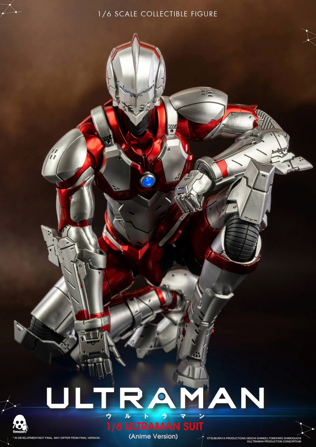 "NEW PRODUCT: Threezero: 1/6 Netflix Animated Edition ""Mobile Altman"" - ULTRAMAN / Altman Motivator 09534210"