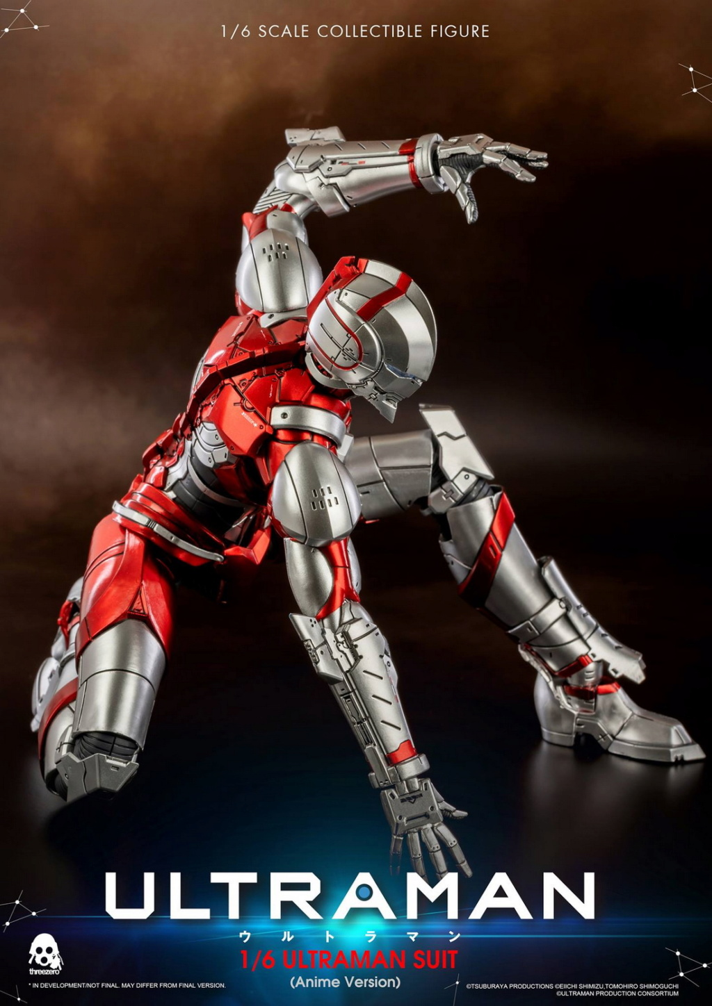 "NEW PRODUCT: Threezero: 1/6 Netflix Animated Edition ""Mobile Altman"" - ULTRAMAN / Altman Motivator 09535610"