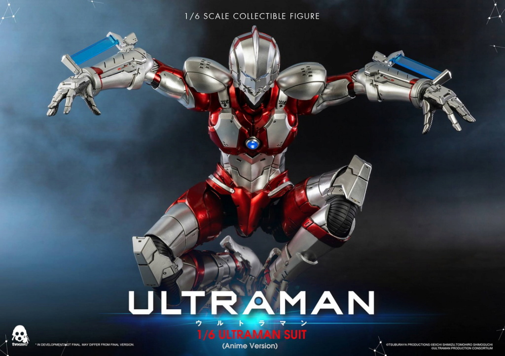 "NEW PRODUCT: Threezero: 1/6 Netflix Animated Edition ""Mobile Altman"" - ULTRAMAN / Altman Motivator 09541310"
