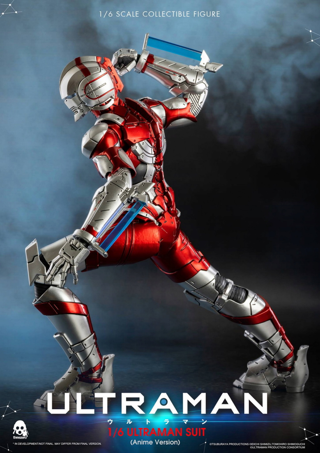 "NEW PRODUCT: Threezero: 1/6 Netflix Animated Edition ""Mobile Altman"" - ULTRAMAN / Altman Motivator 09541910"