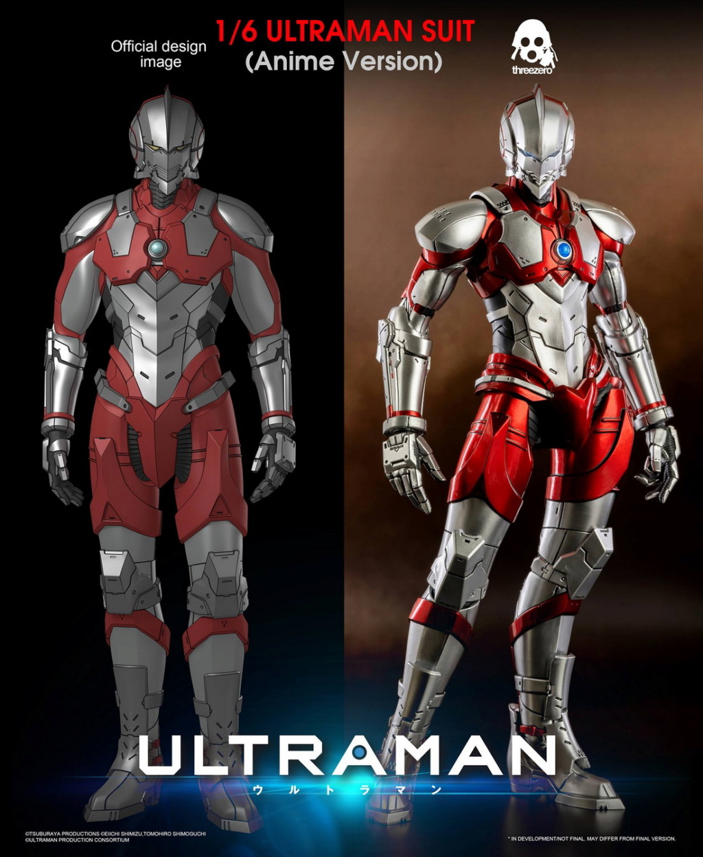 "NEW PRODUCT: Threezero: 1/6 Netflix Animated Edition ""Mobile Altman"" - ULTRAMAN / Altman Motivator 09543010"