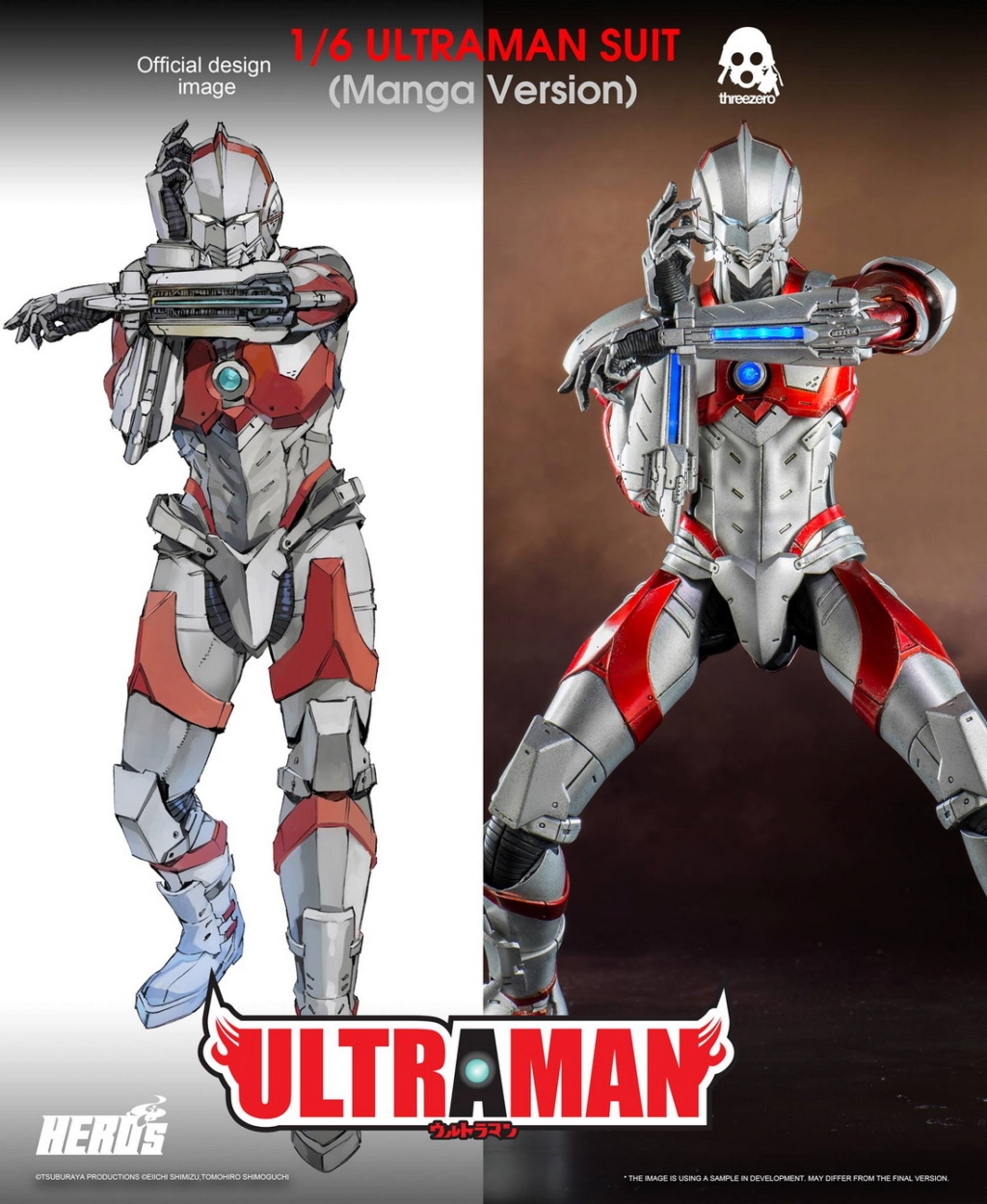 "NEW PRODUCT: Threezero: 1/6 Netflix Animated Edition ""Mobile Altman"" - ULTRAMAN / Altman Motivator 09543510"
