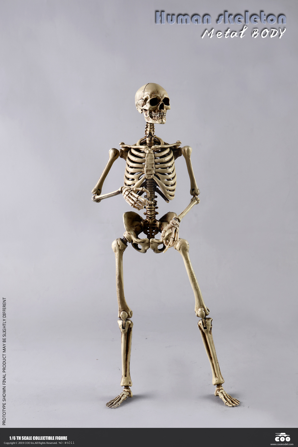 metal - NEW PRODUCT: COOMODEL: 1/6 Skeleton high movable body (all metal alloy material) BS011# 09573011