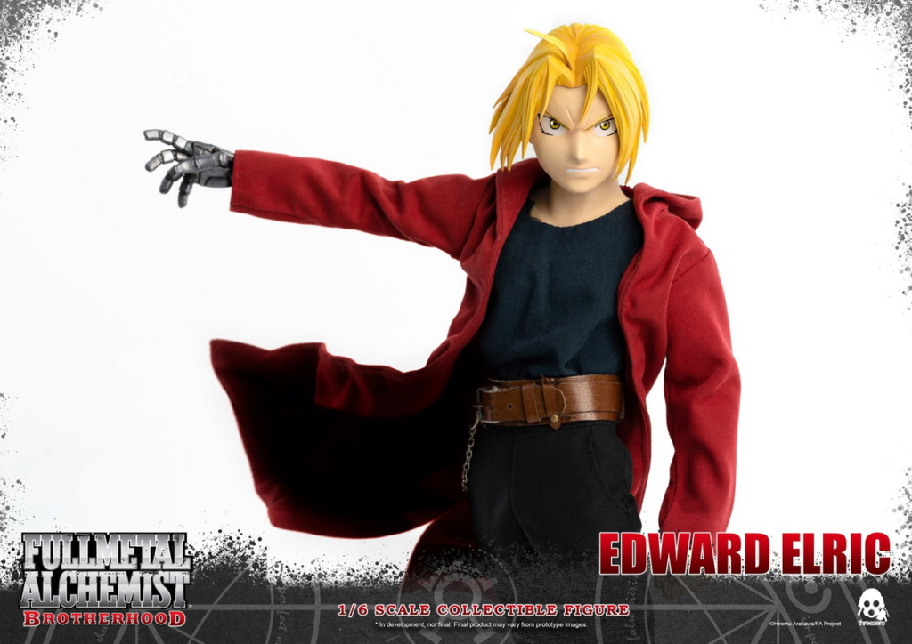 "Stylized - NEW PRODUCT: ThreeZero: 1/6 ""Fullmetal Alchemist"" - Edward & Alphonse Single Edition & Double Set 09591510"