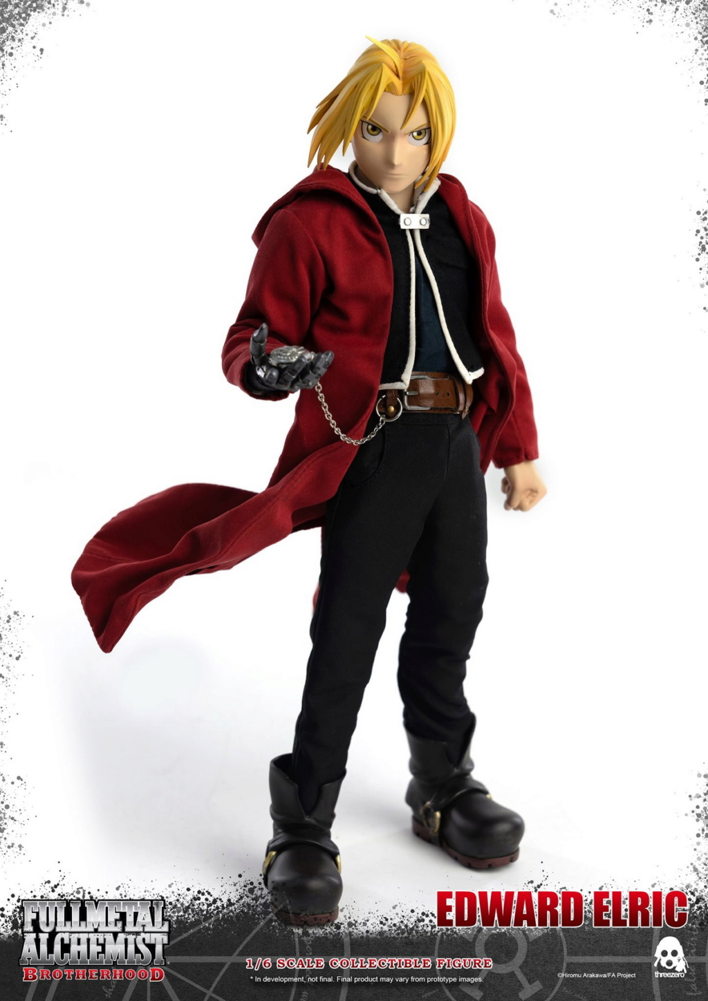 "Stylized - NEW PRODUCT: ThreeZero: 1/6 ""Fullmetal Alchemist"" - Edward & Alphonse Single Edition & Double Set 09592310"