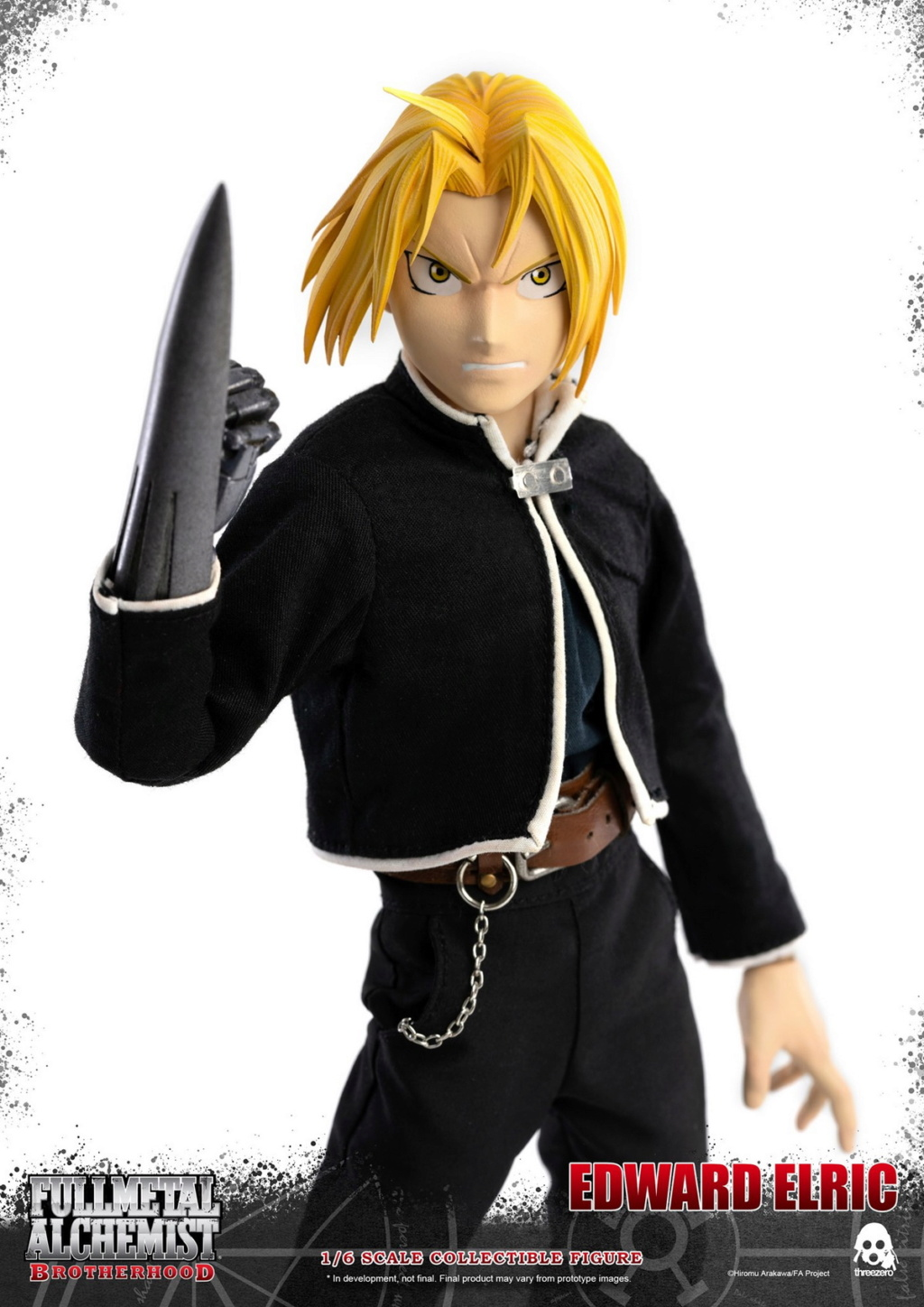 "Stylized - NEW PRODUCT: ThreeZero: 1/6 ""Fullmetal Alchemist"" - Edward & Alphonse Single Edition & Double Set 09593111"