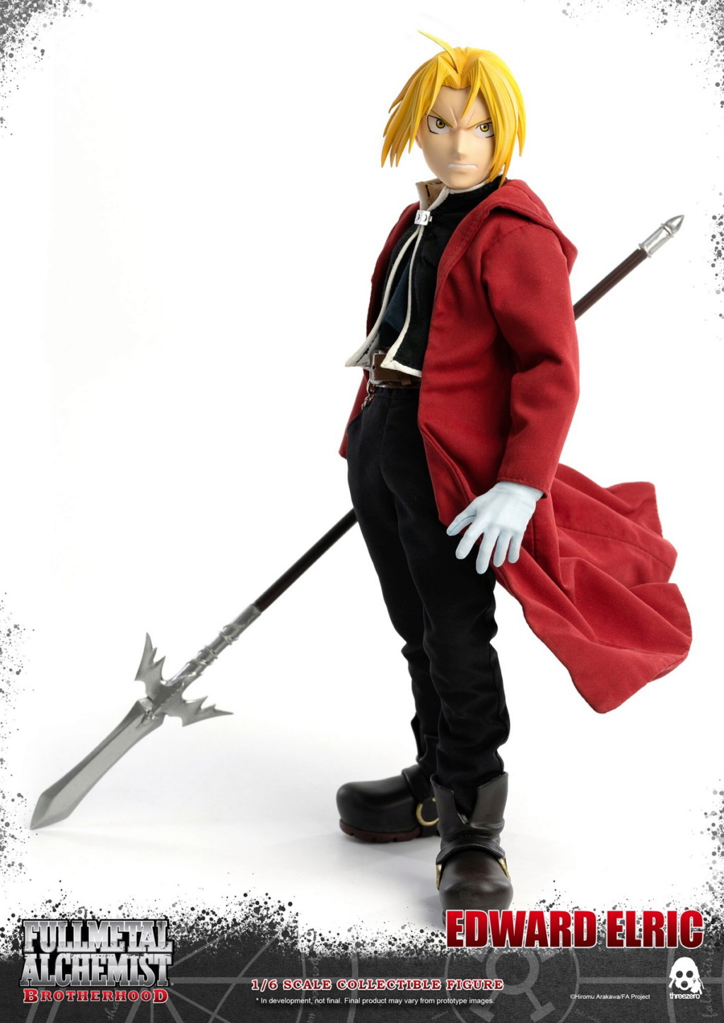 "Stylized - NEW PRODUCT: ThreeZero: 1/6 ""Fullmetal Alchemist"" - Edward & Alphonse Single Edition & Double Set 09593711"