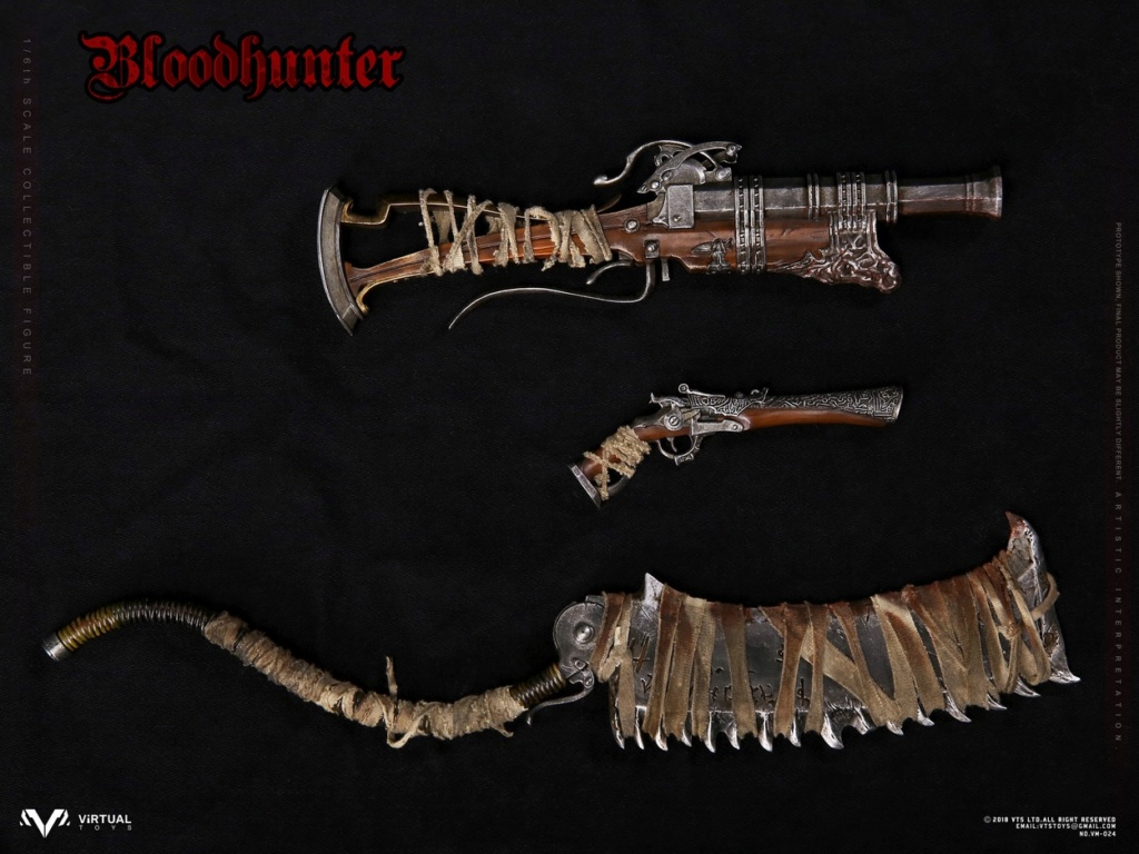 VTSToys - NEW PRODUCT: VTS TOYS New: 1/6 Blood Hunter / Blood hunter Actuator (VM-024#) 09594010