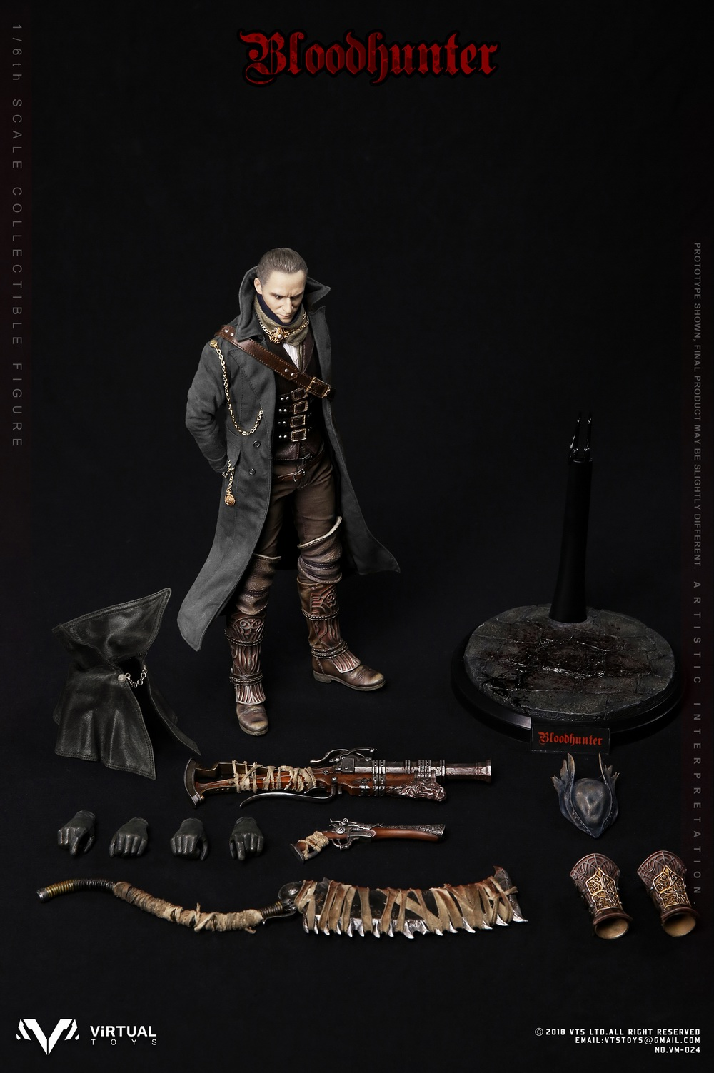 VTSToys - NEW PRODUCT: VTS TOYS New: 1/6 Blood Hunter / Blood hunter Actuator (VM-024#) 09594210