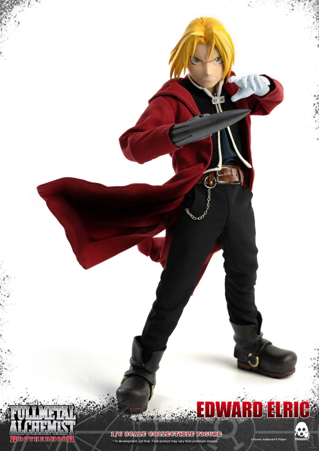 "Stylized - NEW PRODUCT: ThreeZero: 1/6 ""Fullmetal Alchemist"" - Edward & Alphonse Single Edition & Double Set 09594310"