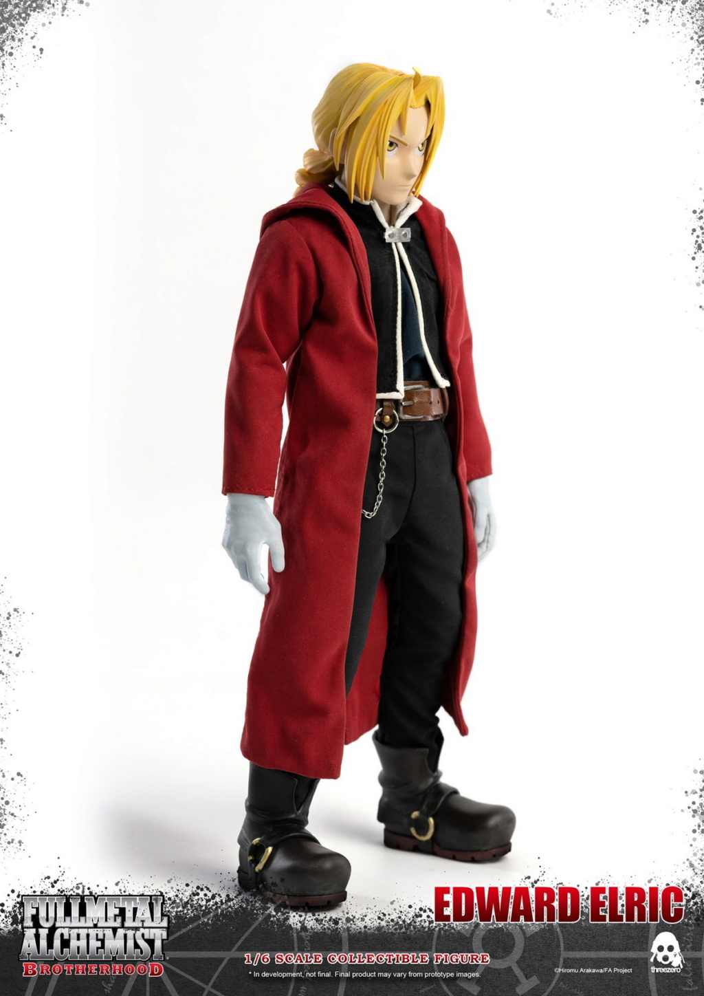 "Stylized - NEW PRODUCT: ThreeZero: 1/6 ""Fullmetal Alchemist"" - Edward & Alphonse Single Edition & Double Set 09594810"