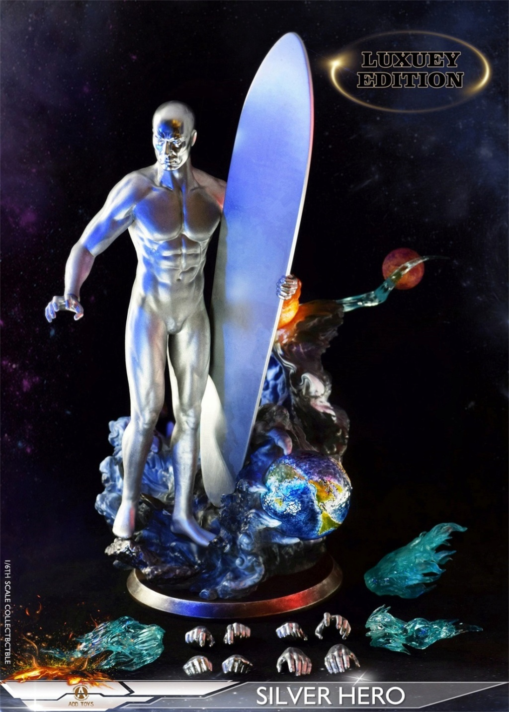 NEW PRODUCT: ADD Toys: 1/6 scale Silver Man/Silver Hero AD05 09e1df10