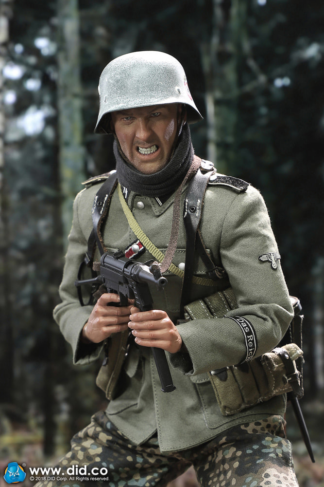 DiD - NEW PRODUCT: DiD 1/6 scale figure Egon - SS-Panzer-Division Das Reich MG42 Gunner B 0a10