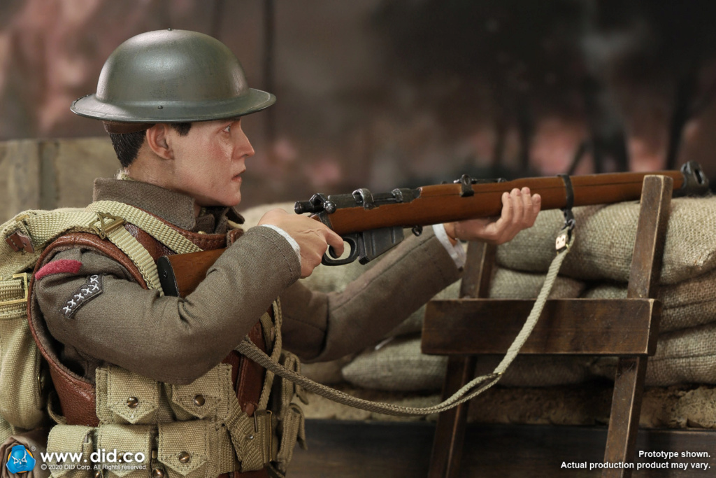 military - NEW PRODUCT: DiD: B11011 WWI British Infantry Lance Corporal William & Trench Diorama Set (UPDATED INFORMATION) 0a358b10