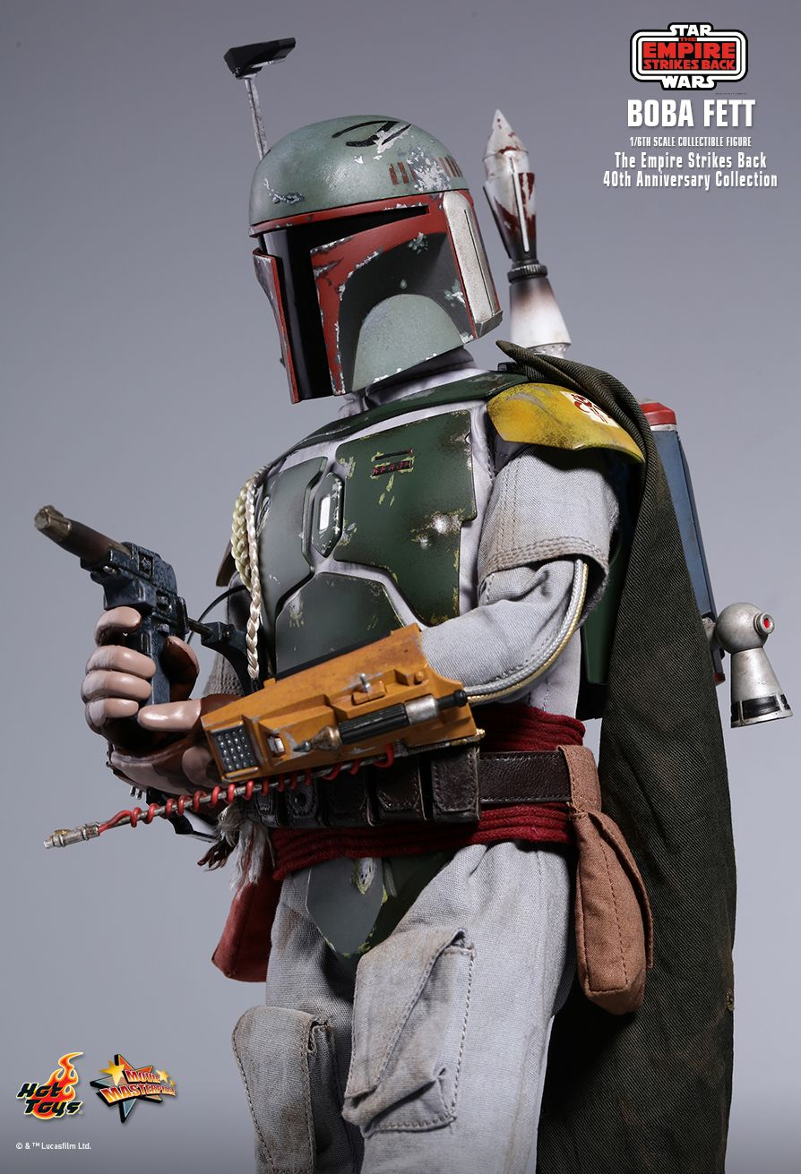 empirestrikesback - NEW PRODUCT: HOT TOYS: STAR WARS: THE EMPIRE STRIKES BACK™ BOBA FETT™ (STAR WARS: THE EMPIRE STRIKES BACK 40TH ANNIVERSARY COLLECTION) 1/6TH SCALE COLLECTIBLE FIGURE 0af00e10