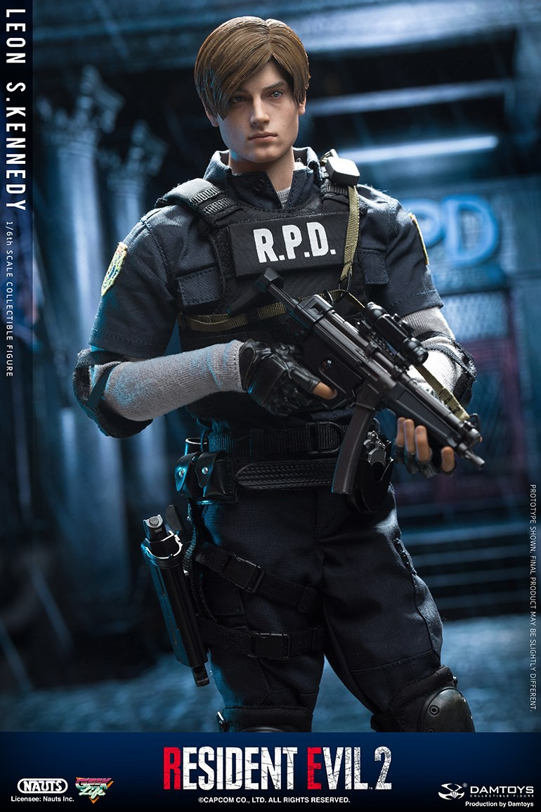 "Sci-Fi - NEW PRODUCT: NAUTS & DAMTOYS: 1/6 ""Resident Evil 2""-LEON S.KENNEDY/Lyon S. Kennedy remake #DMS030  0b3aa410"