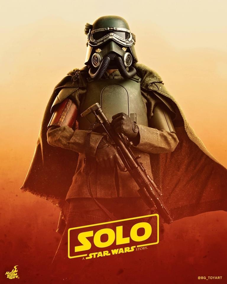 Mudtrooper - NEW PRODUCT: HOT TOYS: SOLO: A STAR WARS STORY HAN SOLO (MUDTROOPER) 1/6TH SCALE COLLECTIBLE FIGURE 0b55a310