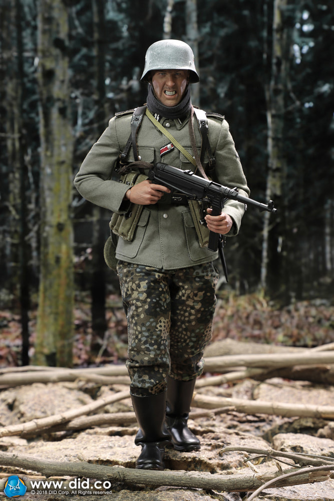 DiD - NEW PRODUCT: DiD 1/6 scale figure Egon - SS-Panzer-Division Das Reich MG42 Gunner B 0d10