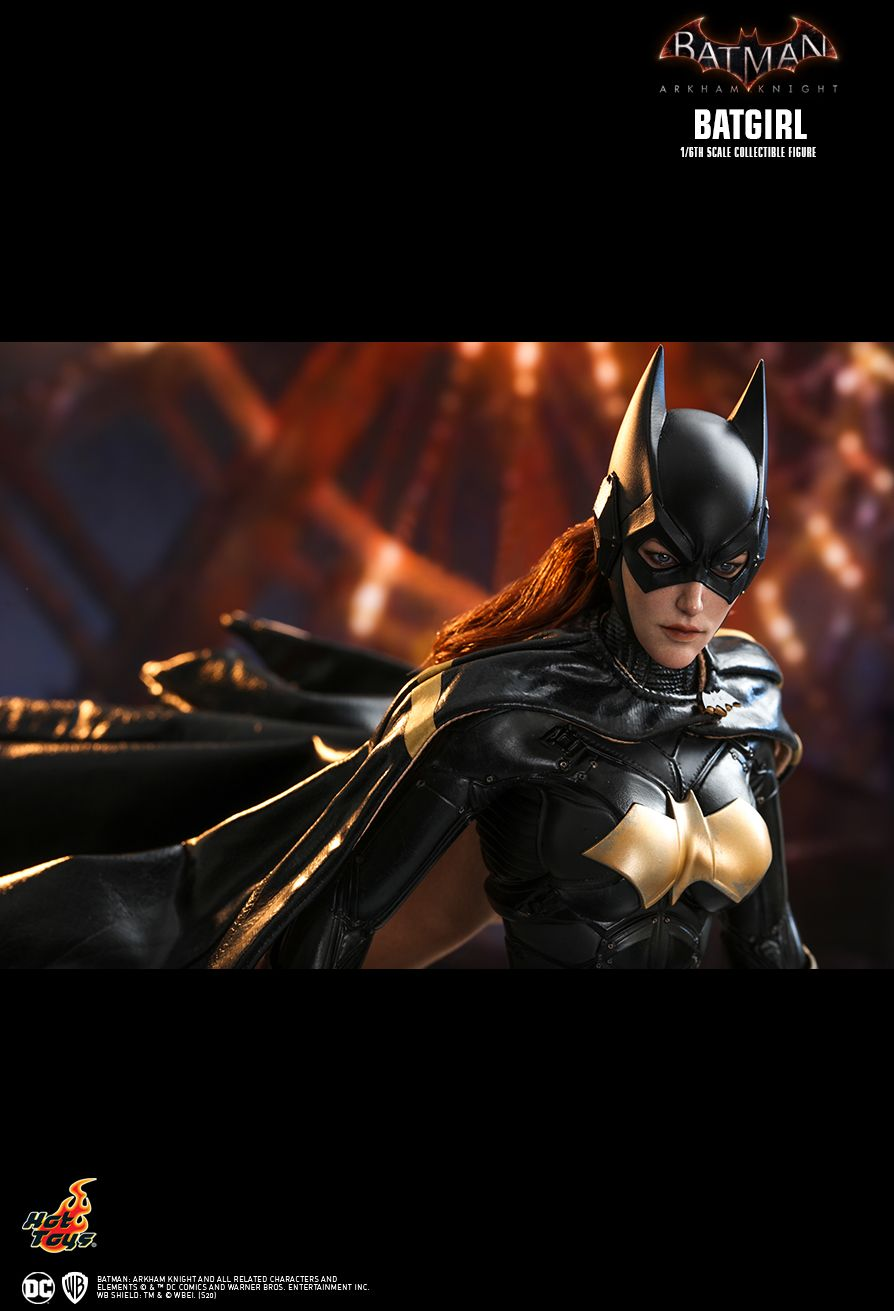 batman - NEW PRODUCT: HOT TOYS: BATMAN: ARKHAM KNIGHT BATGIRL 1/6TH SCALE COLLECTIBLE FIGURE 0d53f210