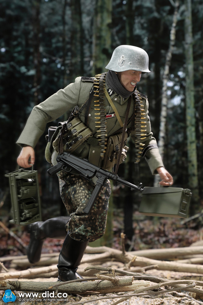 DiD - NEW PRODUCT: DiD 1/6 scale figure Egon - SS-Panzer-Division Das Reich MG42 Gunner B 0i10