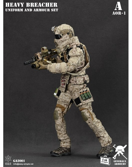 General - NEW PRODUCT: General's Armoury GA2001 1/6 Scale Heavy Breacher Uniform and Armour Set 1-528x11