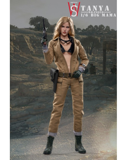 military - NEW PRODUCT: Swtoys FS020 1/6 Scale Big Mama (Tanya) action figure 1-528x17