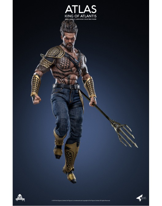 NEW PRODUCT: Art Figure AI-005 1/6 Scale King of Atlantis ATLAS 1-528x22