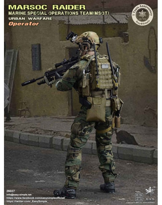 NEW PRODUCT: Easy & Simple 26027 1/6 Scale MARSOC Raider Urban Warfare Operator 10-52810