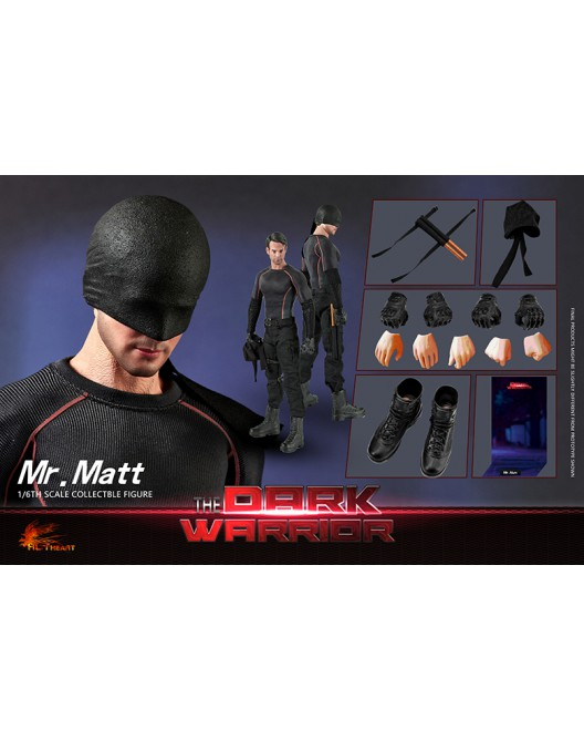Netflix - NEW PRODUCT: Hot Heart FD007 1/6 Scale The Dark Warrior action figure 10-52814