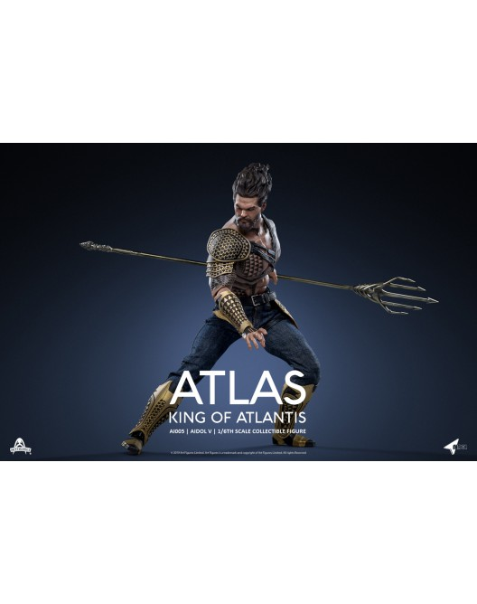 NEW PRODUCT: Art Figure AI-005 1/6 Scale King of Atlantis ATLAS 10-52819