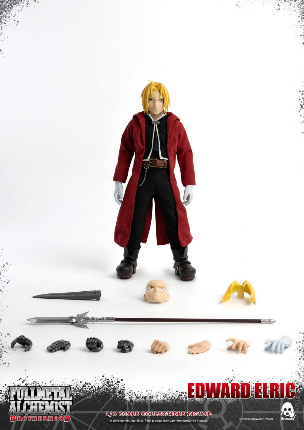 "Stylized - NEW PRODUCT: ThreeZero: 1/6 ""Fullmetal Alchemist"" - Edward & Alphonse Single Edition & Double Set 10000510"