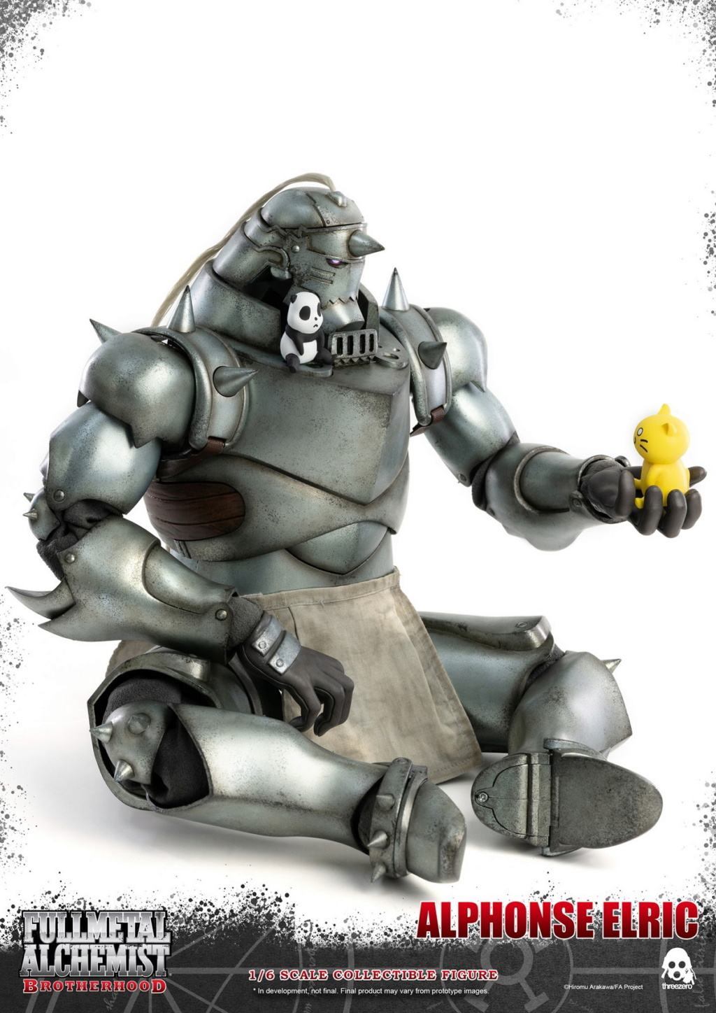 "Stylized - NEW PRODUCT: ThreeZero: 1/6 ""Fullmetal Alchemist"" - Edward & Alphonse Single Edition & Double Set 10001210"