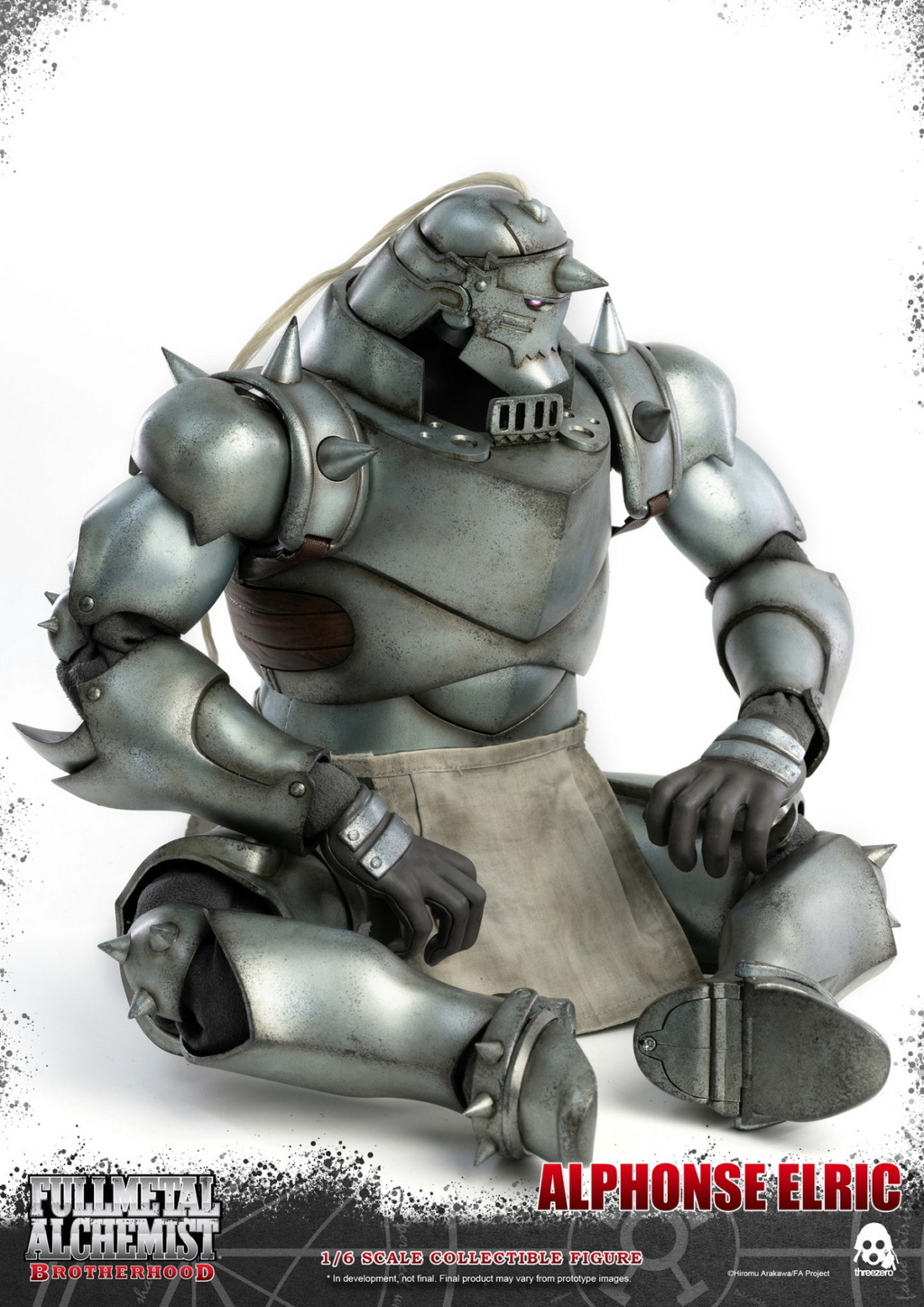 "Stylized - NEW PRODUCT: ThreeZero: 1/6 ""Fullmetal Alchemist"" - Edward & Alphonse Single Edition & Double Set 10002010"