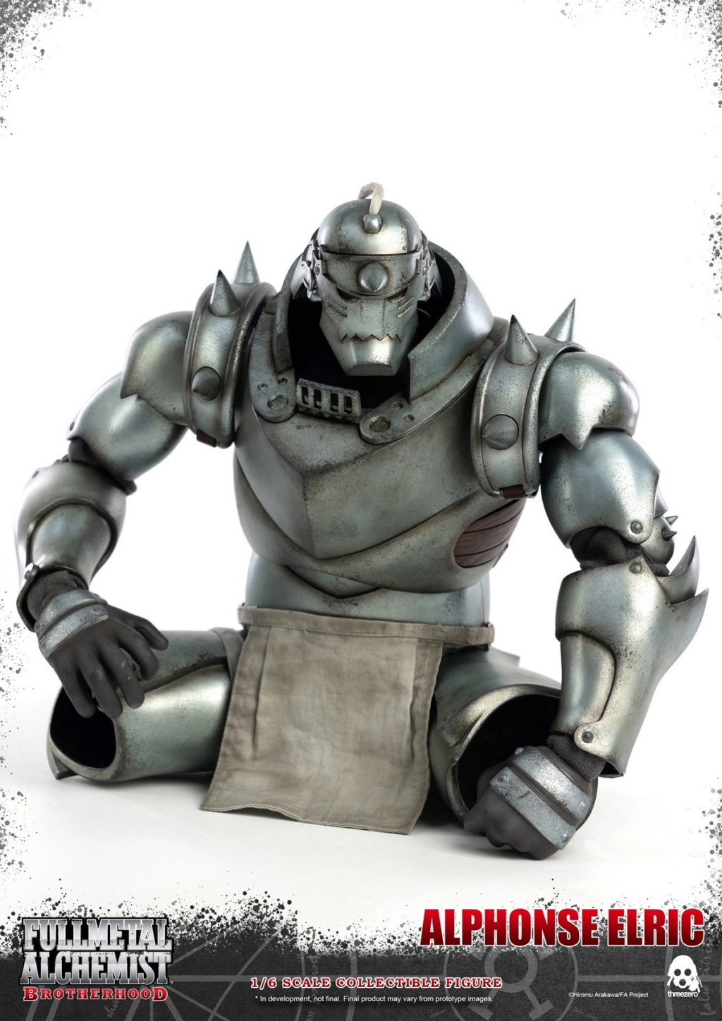 "Stylized - NEW PRODUCT: ThreeZero: 1/6 ""Fullmetal Alchemist"" - Edward & Alphonse Single Edition & Double Set 10005310"