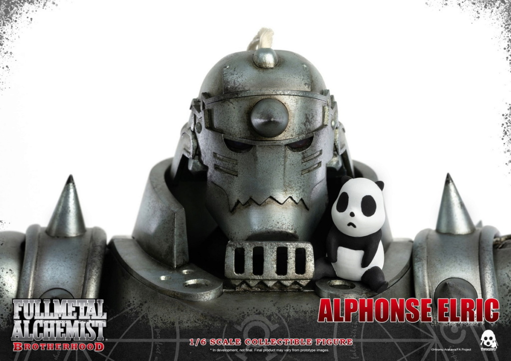 "Stylized - NEW PRODUCT: ThreeZero: 1/6 ""Fullmetal Alchemist"" - Edward & Alphonse Single Edition & Double Set 10010610"