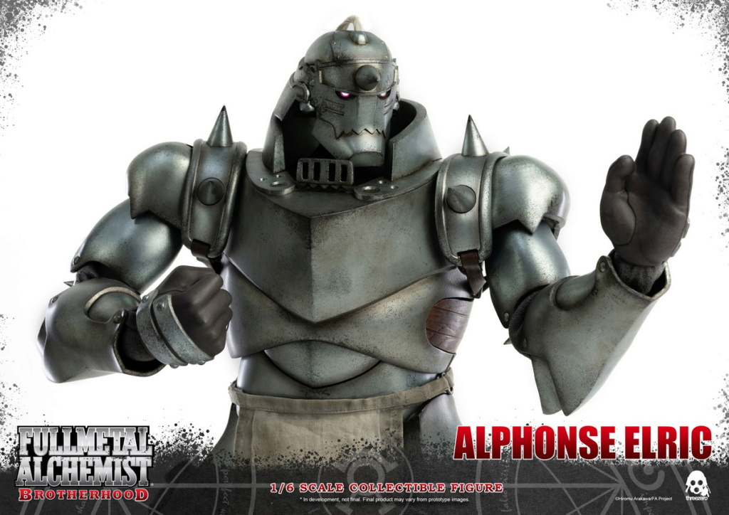 "Stylized - NEW PRODUCT: ThreeZero: 1/6 ""Fullmetal Alchemist"" - Edward & Alphonse Single Edition & Double Set 10011310"