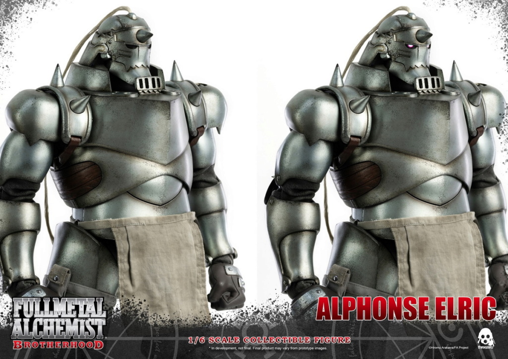 "Stylized - NEW PRODUCT: ThreeZero: 1/6 ""Fullmetal Alchemist"" - Edward & Alphonse Single Edition & Double Set 10012010"