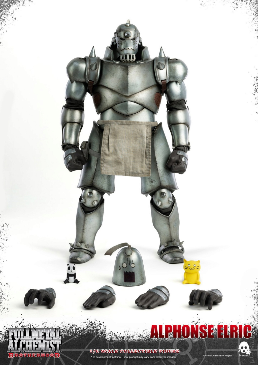 "Stylized - NEW PRODUCT: ThreeZero: 1/6 ""Fullmetal Alchemist"" - Edward & Alphonse Single Edition & Double Set 10012510"