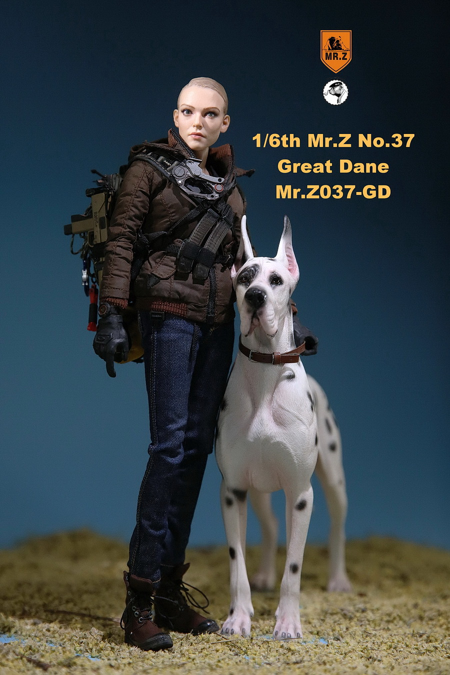 NEW PRODUCT: Mr.Z: simulation animal 37th-1/6 ratio German Great Dane German Great Dane - full set of 6 colors 10030710