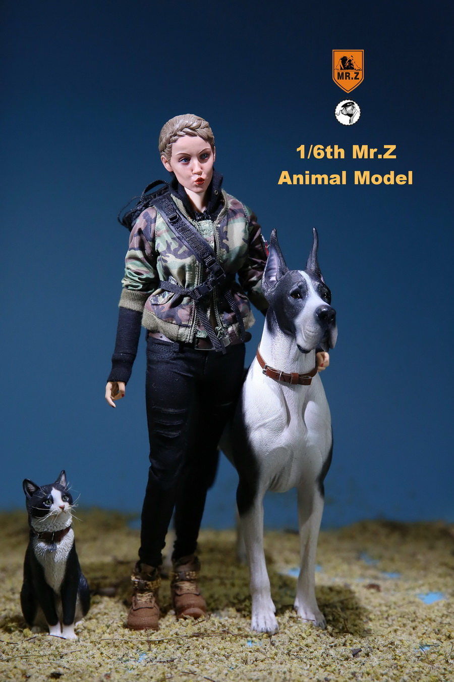 NEW PRODUCT: Mr.Z: simulation animal 37th-1/6 ratio German Great Dane German Great Dane - full set of 6 colors 10042111