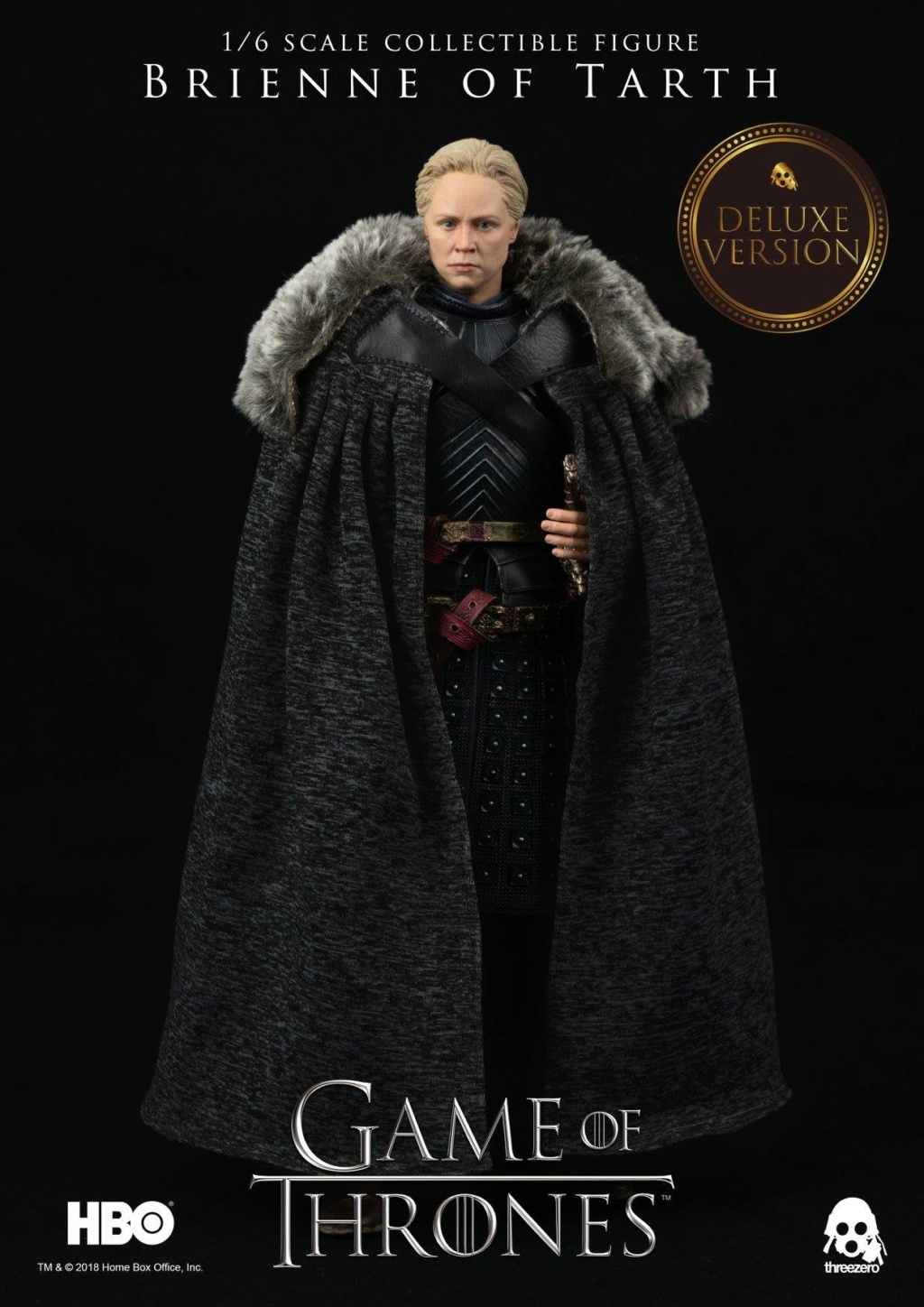 "NEW PRODUCT: ThreeZero New: 1/6 ""The Song of Ice and Fire: The Game of Power"" - Brienne of Tarth / Tarnes 10105810"