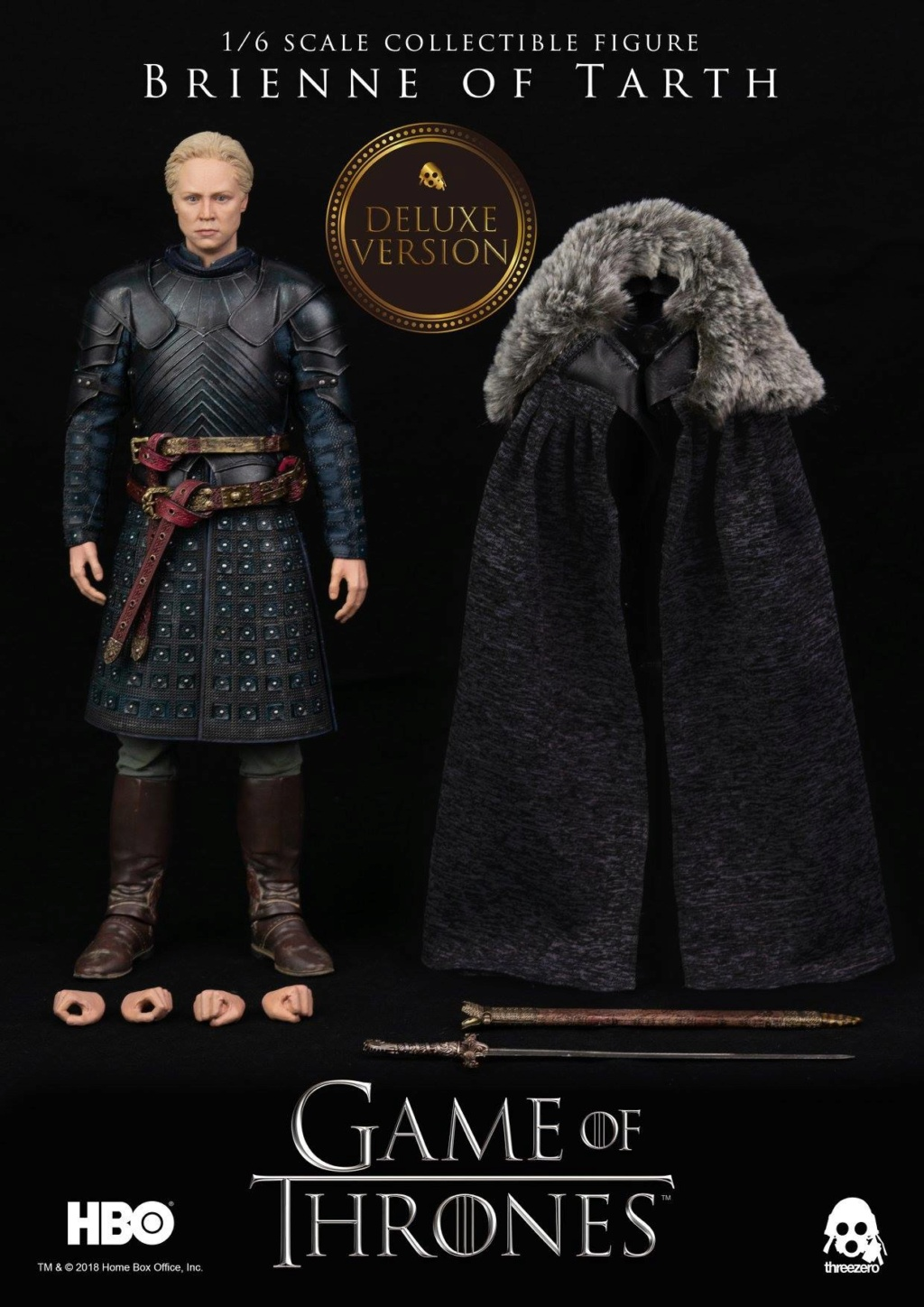 "NEW PRODUCT: ThreeZero New: 1/6 ""The Song of Ice and Fire: The Game of Power"" - Brienne of Tarth / Tarnes 10110510"