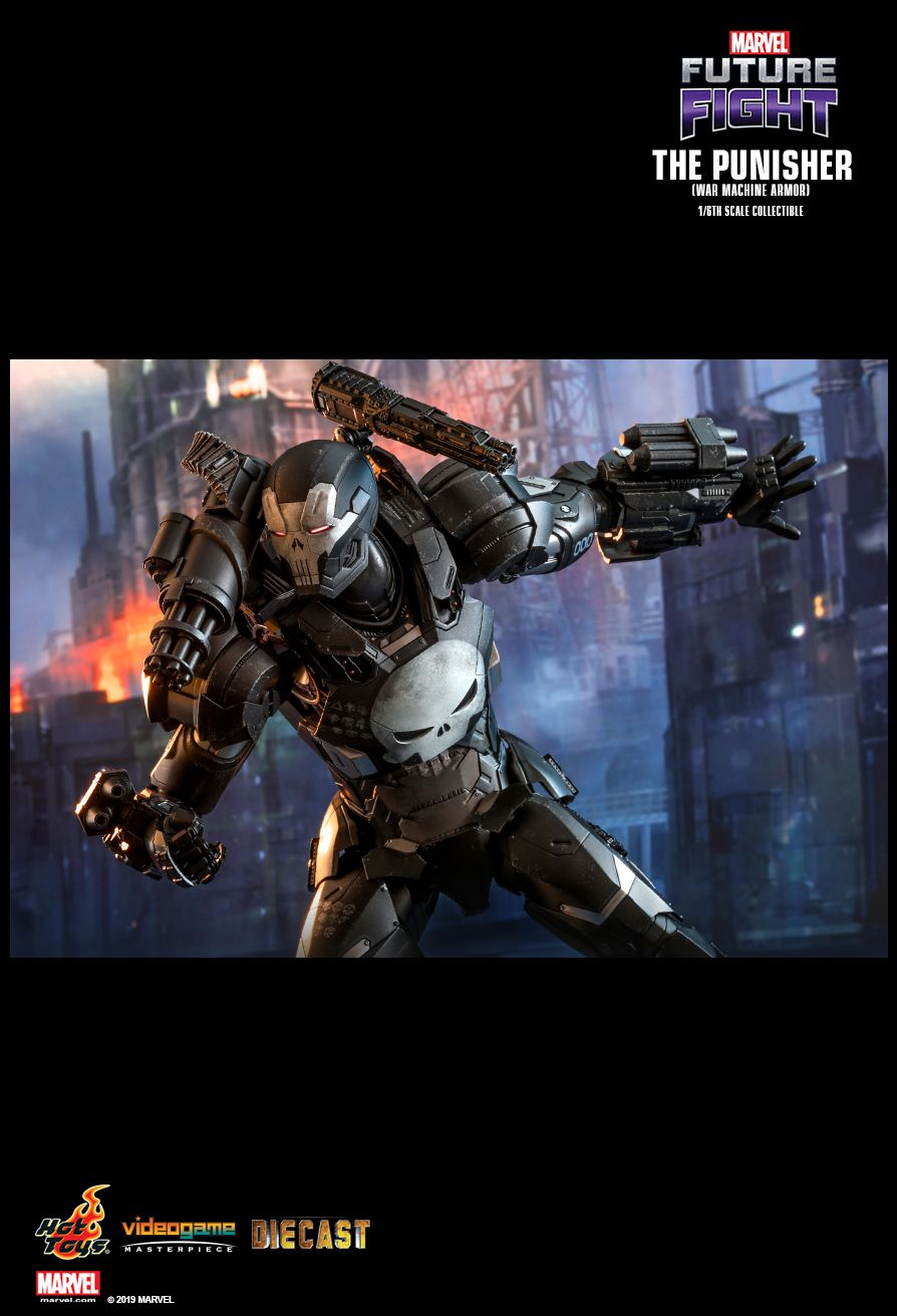 Videogame - NEW PRODUCT: HOT TOYS: MARVEL FUTURE FIGHT THE PUNISHER (WAR MACHINE ARMOR) 1/6TH SCALE COLLECTIBLE FIGURE 10111
